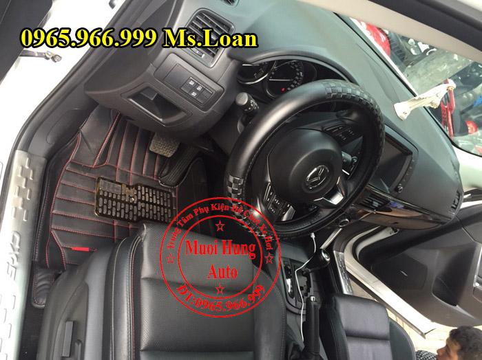 Thảm Lót Sàn 4D Mazda Cx5 Chính Hãng 02