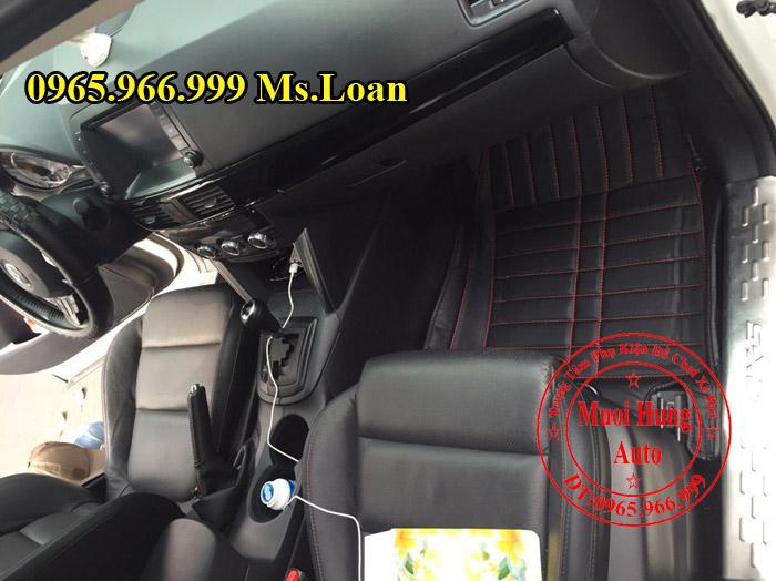 Thảm Lót Sàn 4D Mazda Cx5 Chính Hãng