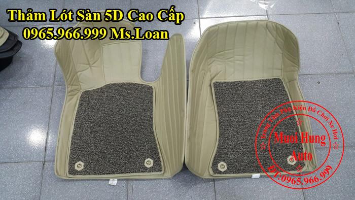 Thảm Lót Chân Ô Tô 5D BMW 520i Chính Hãng 05