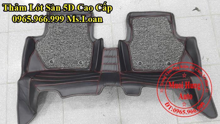 Thảm Lót Sàn 5D Chính Hãng Ford Ecosport 01