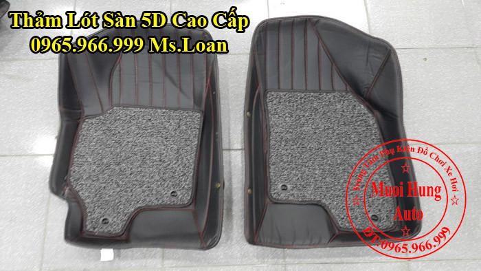 Thảm Lót Chân Ô Tô 5D Hyundai Elantra Chính Hãng