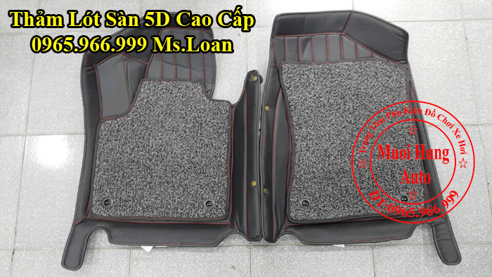 Thảm Lót Chân Ô Tô 5D Kia Sorento Chính Hãng 05