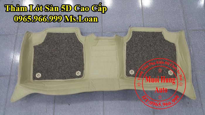 Thảm Lót Sàn 5D Chính Hãng Toyota Camry 01