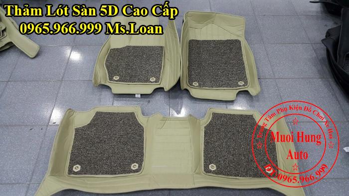 Thảm Lót Sàn 5D Chính Hãng Toyota Camry 02