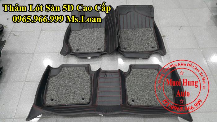 Thảm Lót Sàn 5D Chính Hãng Toyota Camry 06