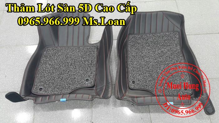 Thảm Lót Sàn 5D Mazda 3 Chính Hãng 02