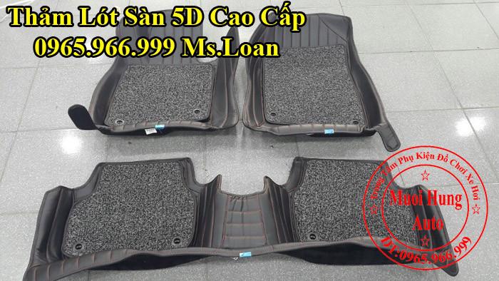 Thảm Lót Sàn 5D Mazda 3 Chính Hãng