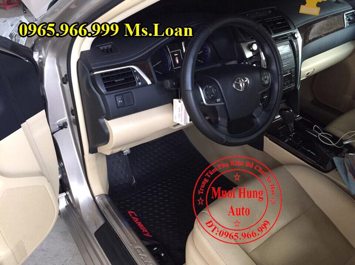 Thảm Lót Sàn, Chân Ô Tô 3D Toyota Camry 02