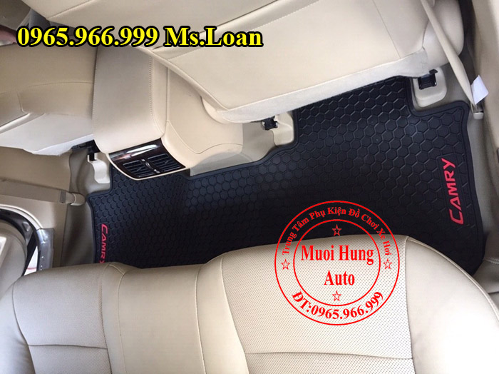 Thảm Lót Sàn, Chân Ô Tô 3D Toyota Camry