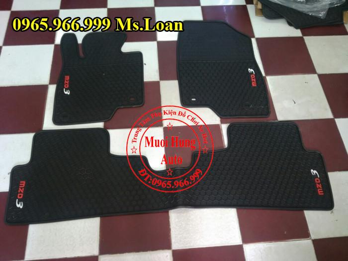 Thảm Lót Sàn, Chân Ô Tô 3D Mazda 3 02