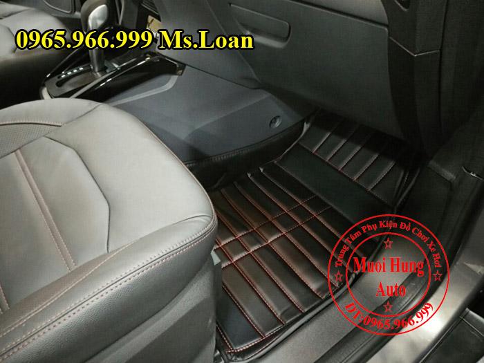 Thảm Lót Sàn, Chân Ô Tô 4D Ford Ecosport 01