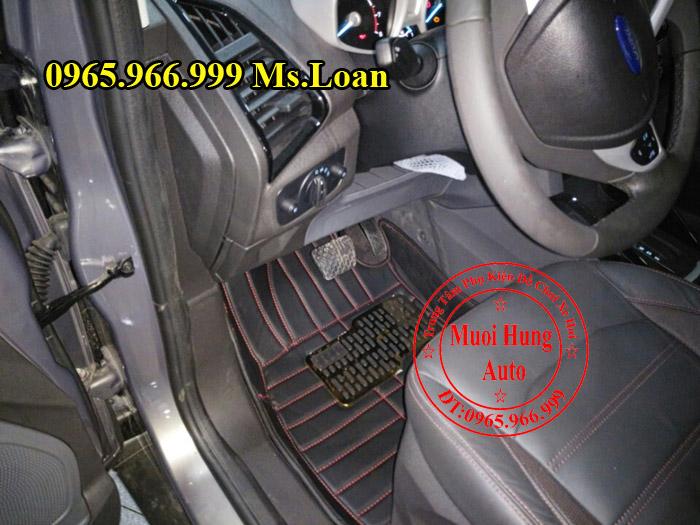 Thảm Lót Sàn, Chân Ô Tô 4D Ford Ecosport