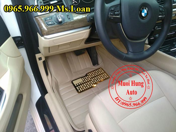 Thảm Lót Sàn, Chân Ô Tô 4D Bmw Series 5 GT 01