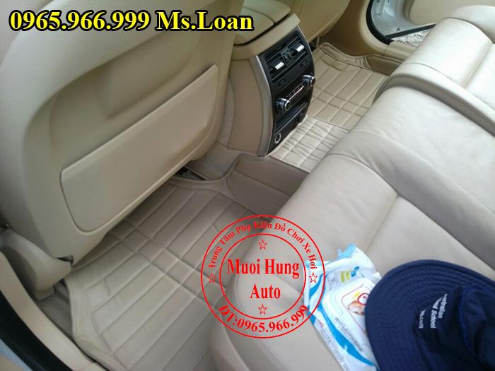 Thảm Lót Sàn, Chân Ô Tô 4D Bmw Series 5 GT 02
