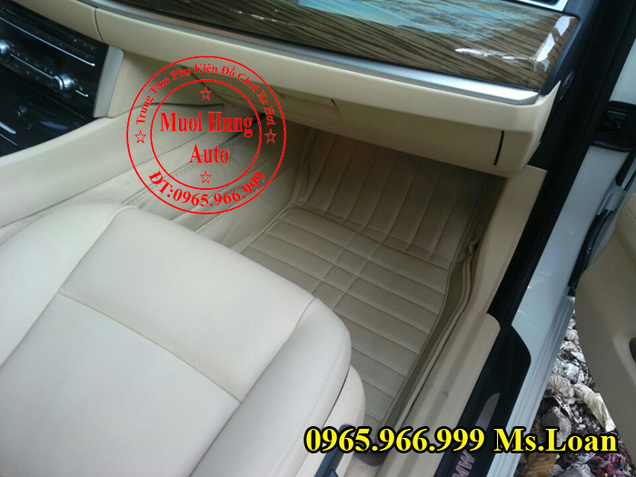 Thảm Lót Sàn, Chân Ô Tô 4D Bmw Series 5 GT