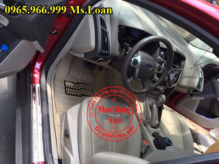 Thảm Lót Sàn, Chân Ô Tô 4D Ford Focus