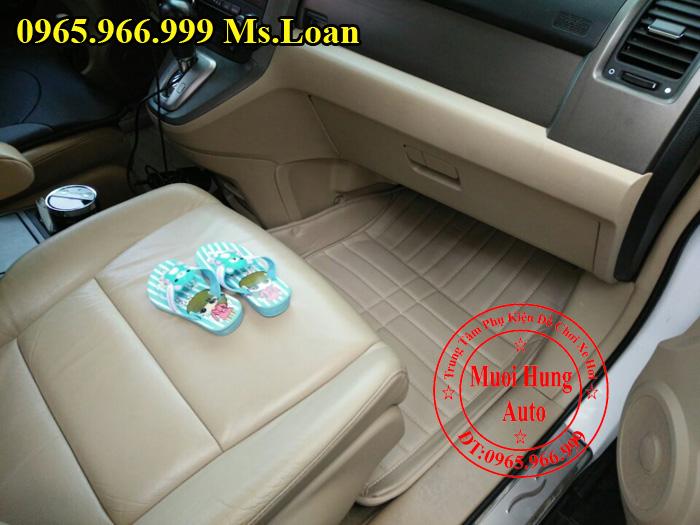 Thảm Lót Sàn, Chân Ô Tô 4D Honda Crv 01