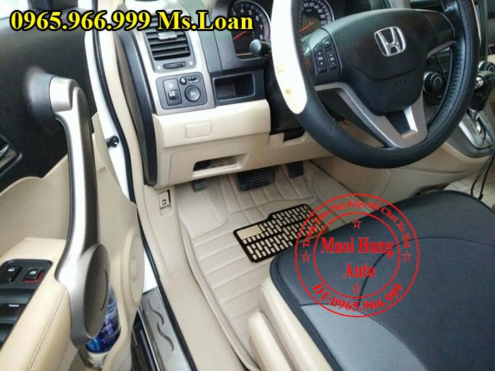 Thảm Lót Sàn, Chân Ô Tô 4D Honda Crv 02