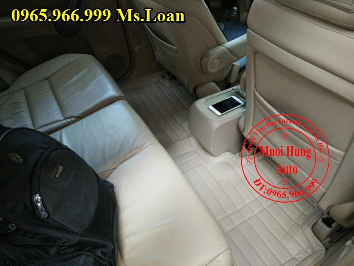Thảm Lót Sàn, Chân Ô Tô 4D Honda Crv
