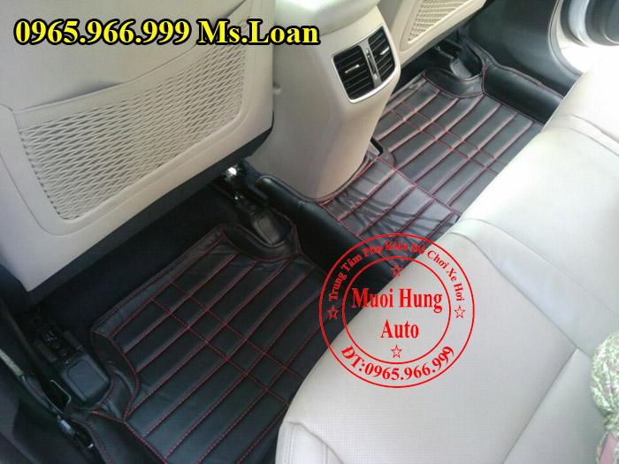 Thảm Lót Sàn, Chân Ô Tô 4D Hyundai Tucson 02