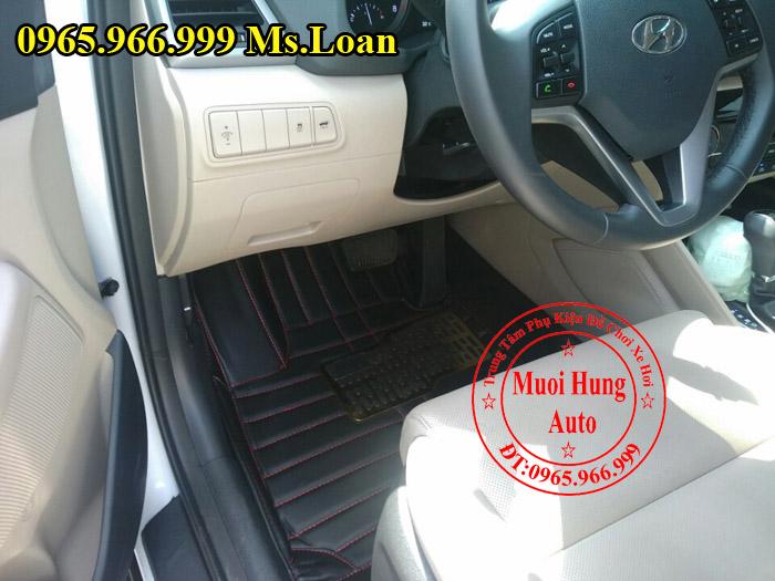Thảm Lót Sàn, Chân Ô Tô 4D Hyundai Tucson