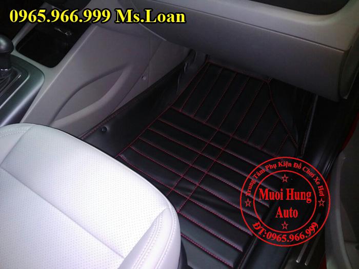 Thảm Lót Sàn, Chân Ô Tô 4D Kia K3 01