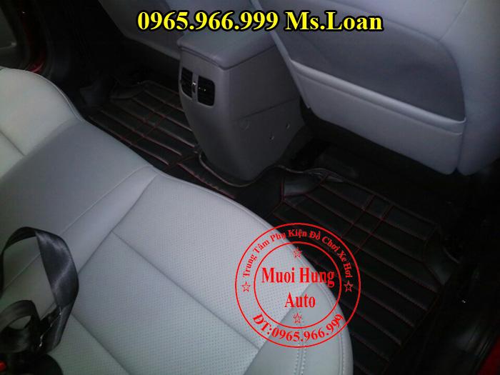 Thảm Lót Sàn, Chân Ô Tô 4D Kia K3 02