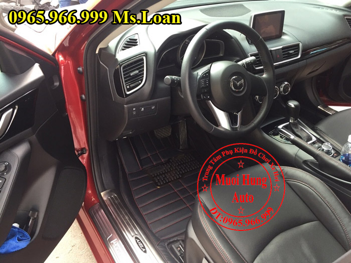 Thảm Lót Sàn, Chân Ô Tô 4D Mazda 3 01