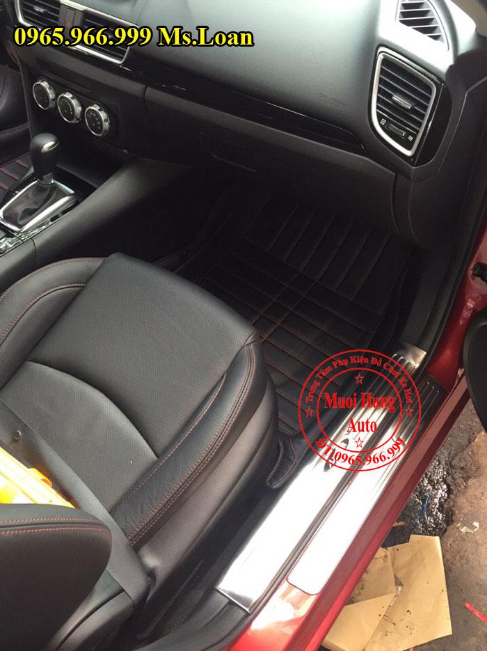 Thảm Lót Sàn, Chân Ô Tô 4D Mazda 3