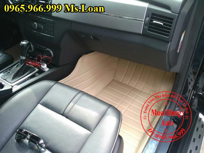 Thảm Lót Sàn, Chân Ô Tô 4D Mercedes Glk 01