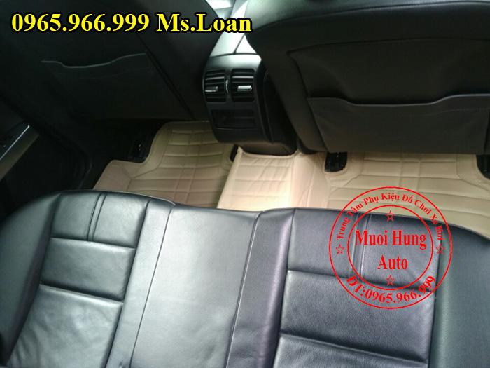 Thảm Lót Sàn, Chân Ô Tô 4D Mercedes Glk