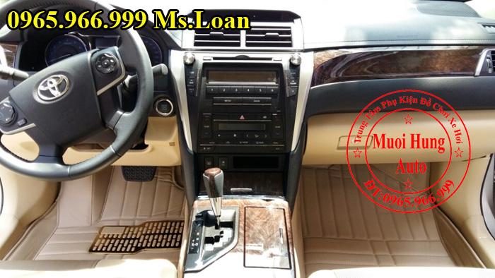 Thảm Lót Sàn, Chân Ô Tô 4D Toyota Camry 02