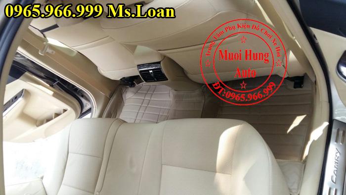 Thảm Lót Sàn, Chân Ô Tô 4D Toyota Camry