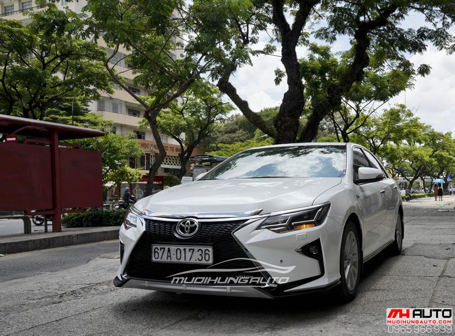 Toyota Camry Độ Mặt Ga Lăng Lexus, Đuôi Mercedes 03