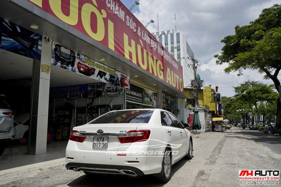Toyota Camry Độ Mặt Ga Lăng Lexus, Đuôi Mercedes 08