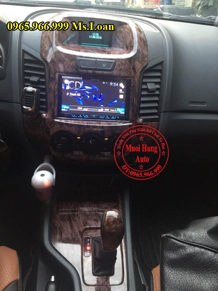 Trang Trí Nội Thất Cho Xe Ford Ranger 2016 02