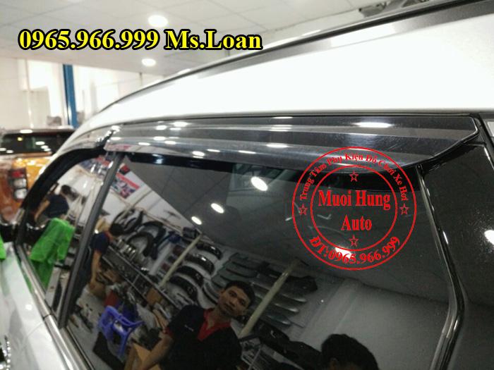 Che Mưa Hyundai Santafe Chính Hãng 01