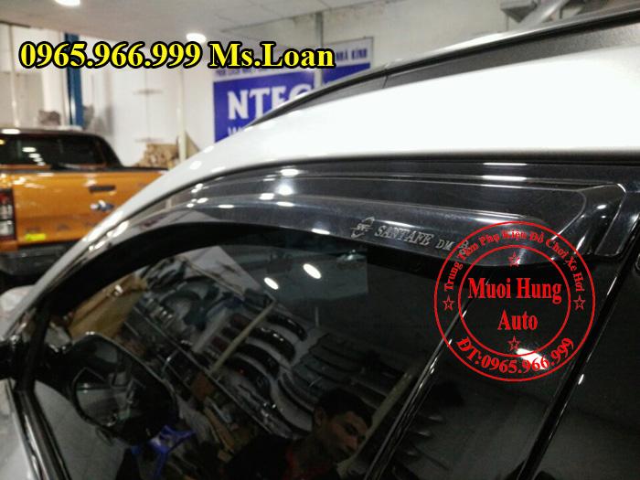 Che Mưa Hyundai Santafe Chính Hãng 03