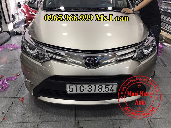 Viền Đèn Trước, Sau Toyota Vios 2016, 2017 02
