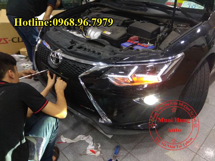Độ Toyota Camry 2016, 2017 Lên Đời Lexus 02