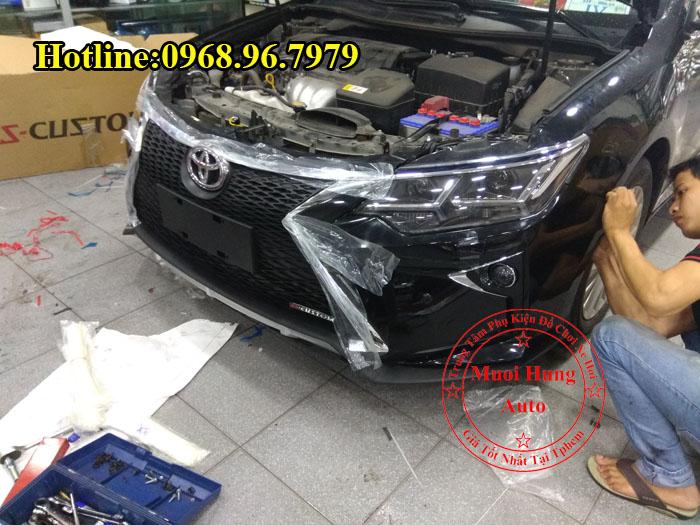 Độ Toyota Camry 2016, 2017 Lên Đời Lexus 01